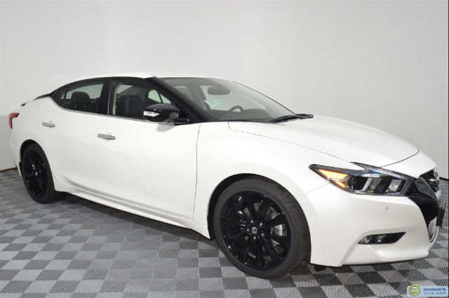 new 2017 nissan maxima 3 5 sr sedan in brooklyn park 4n18546 morrie 39 s brooklyn park nissan. Black Bedroom Furniture Sets. Home Design Ideas