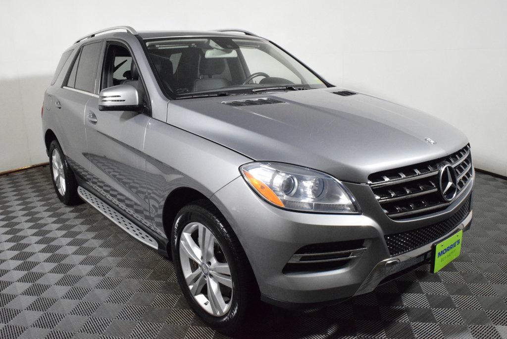 Pre Owned 2014 Mercedes Benz M Class ML 350 4MATIC® 4dr ML350