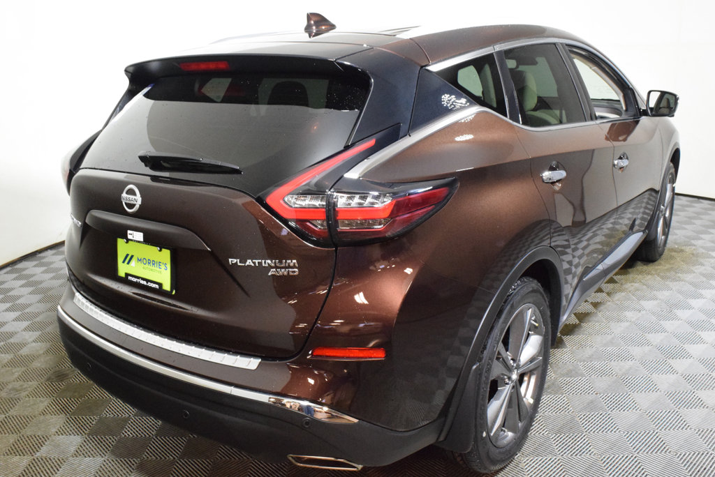 New 2019 NISSAN MURANO AWD PLATINUM