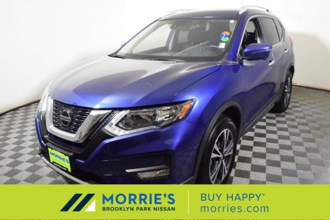 Certified Pre-Owned 2017 Nissan Rogue SV 4D Sport Utility in